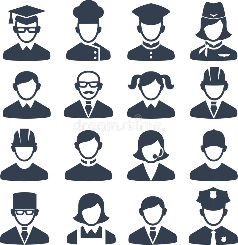 Set of people icons vector illustration