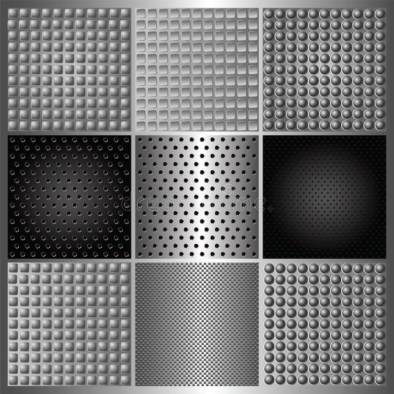 Download Set Of Perforated Iron Royalty Free Stock Image - Image: 22443046