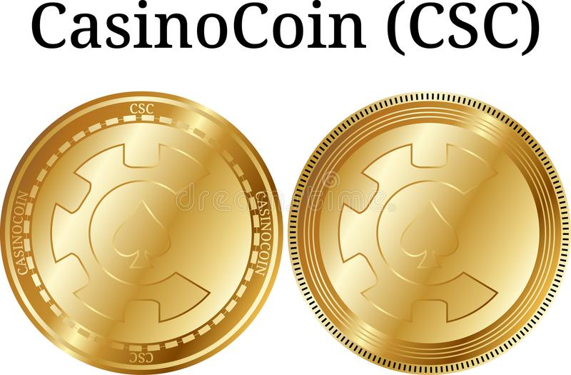 CSC CasinoCoin coin