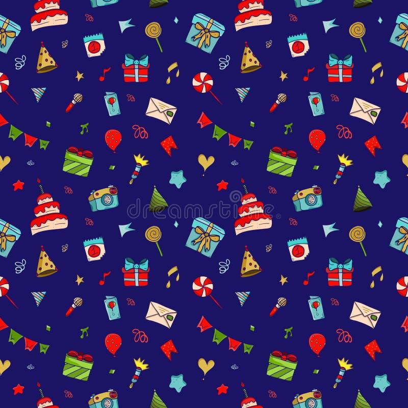 Set piękni ikon sstickers ilustracja wektor
