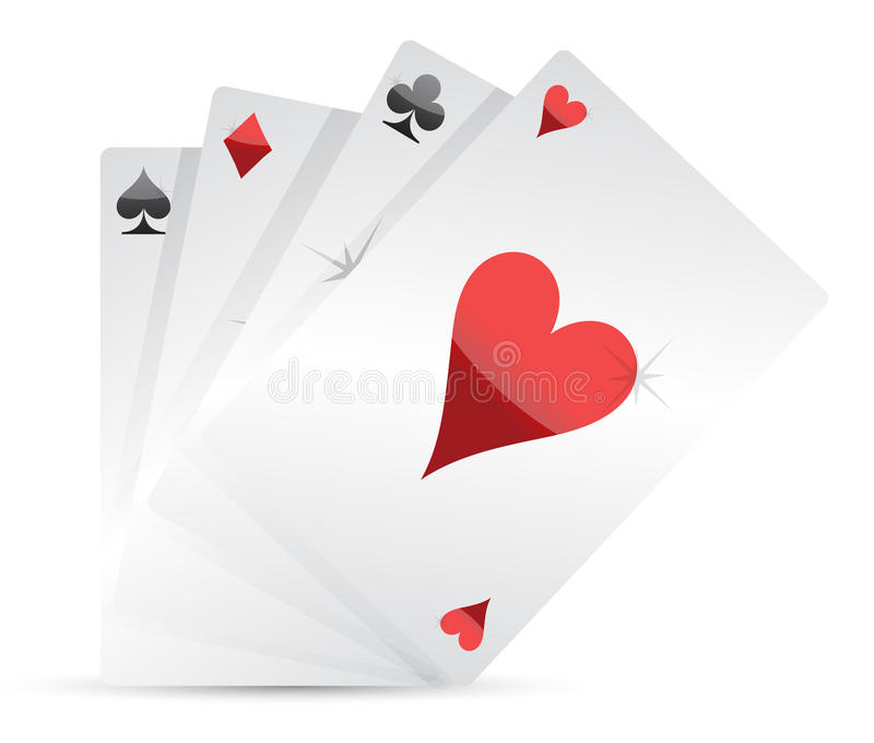 Download Set Of Playing Cards Illustration Stock Vector - Image: 22240987