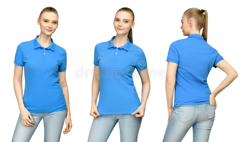 Front Back Blue T Shirt Stock Photos Download 1 860 Royalty Free
