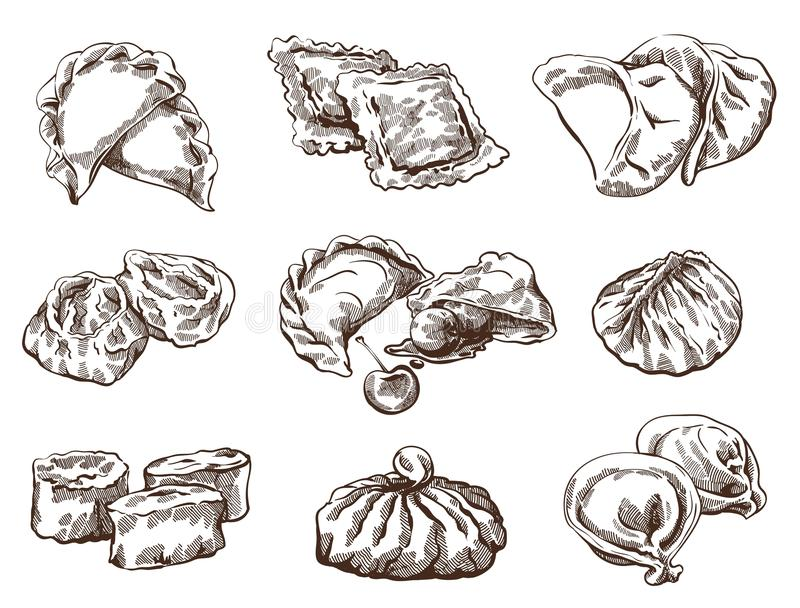 Set różne kluchy ilustracji
