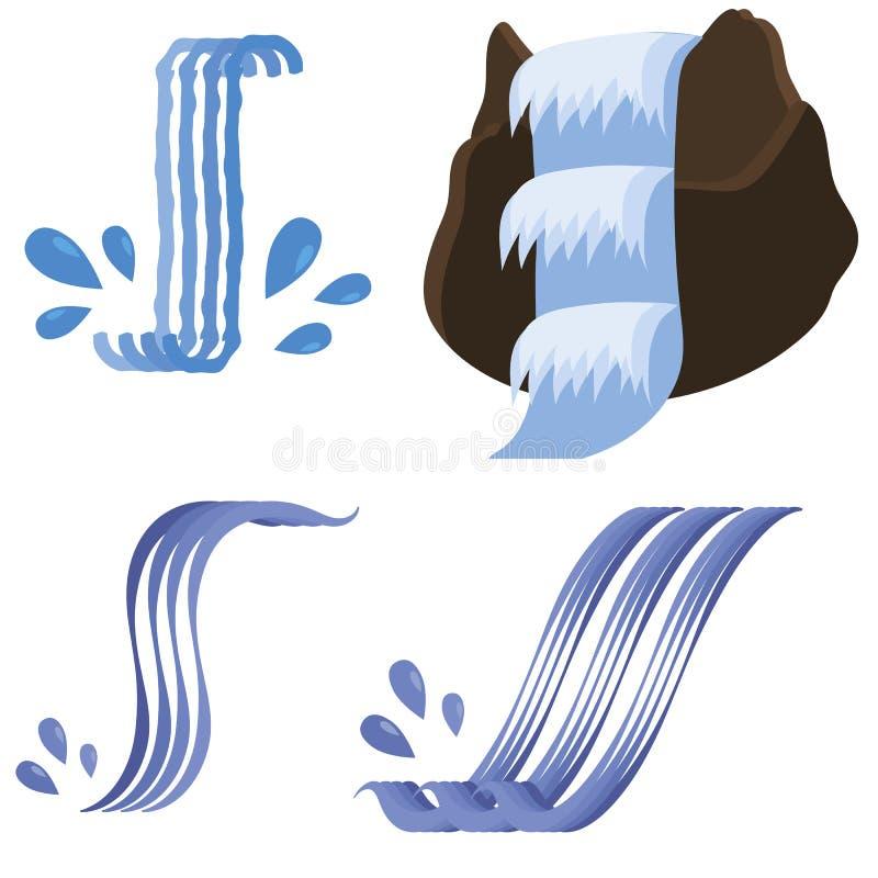 Set Różne siklaw ikony ilustracji