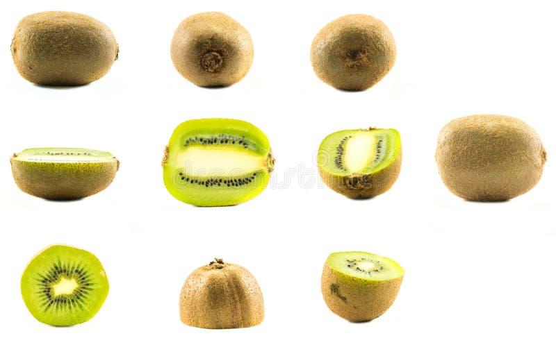Set różni kiwi zdjęcia royalty free