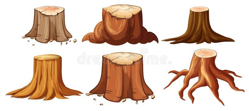 Set Różny fiszorek ilustracja wektor