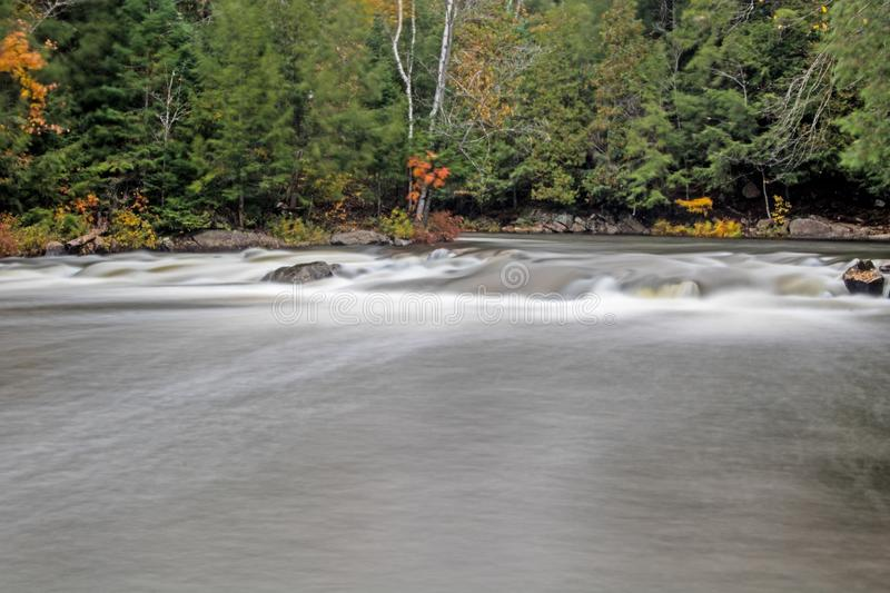 Set Of Rapids On The Oxtongue River stock photos