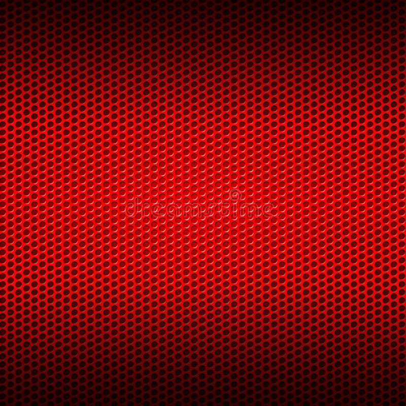 Set 8 Red Carbon Fiber Mesh On Red Metal Plate Stock ...