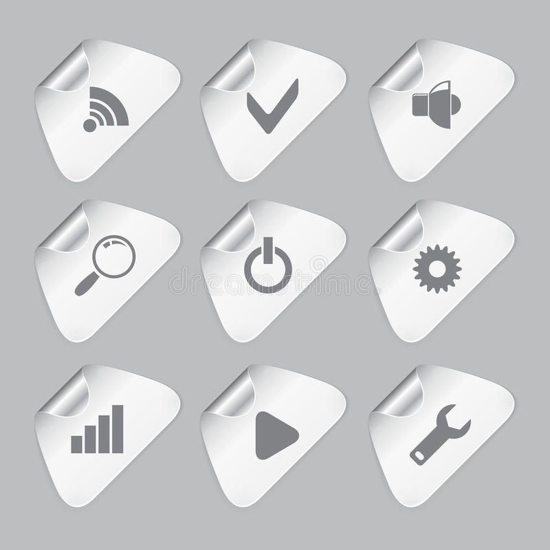 Download Set Redaktor Wytłacza Wzory Ikony Ilustracji - Ilustracja złożonej z użytkownik, notatka: 28972279