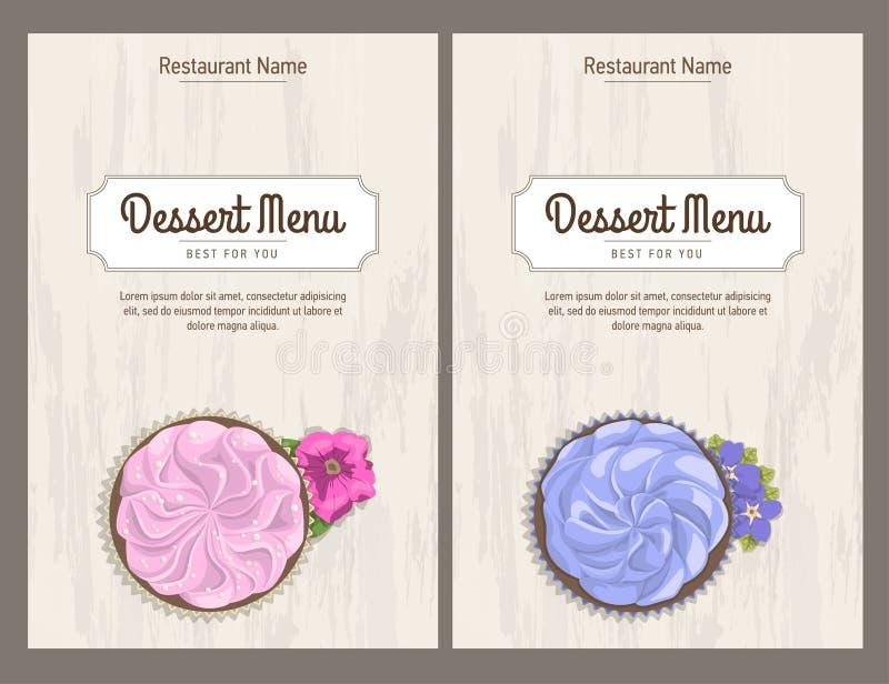 Set Restaurant Menu Design Business Card Templates Stock Vector ...
