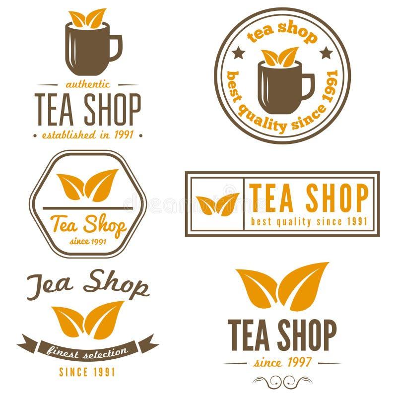 Set rocznik etykietki, emblematy i logów szablony, ilustracja wektor