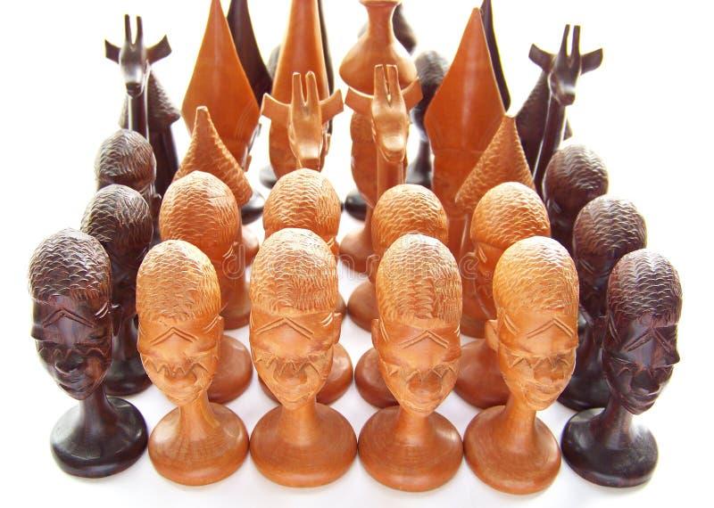 Set Schach lizenzfreie stockfotos
