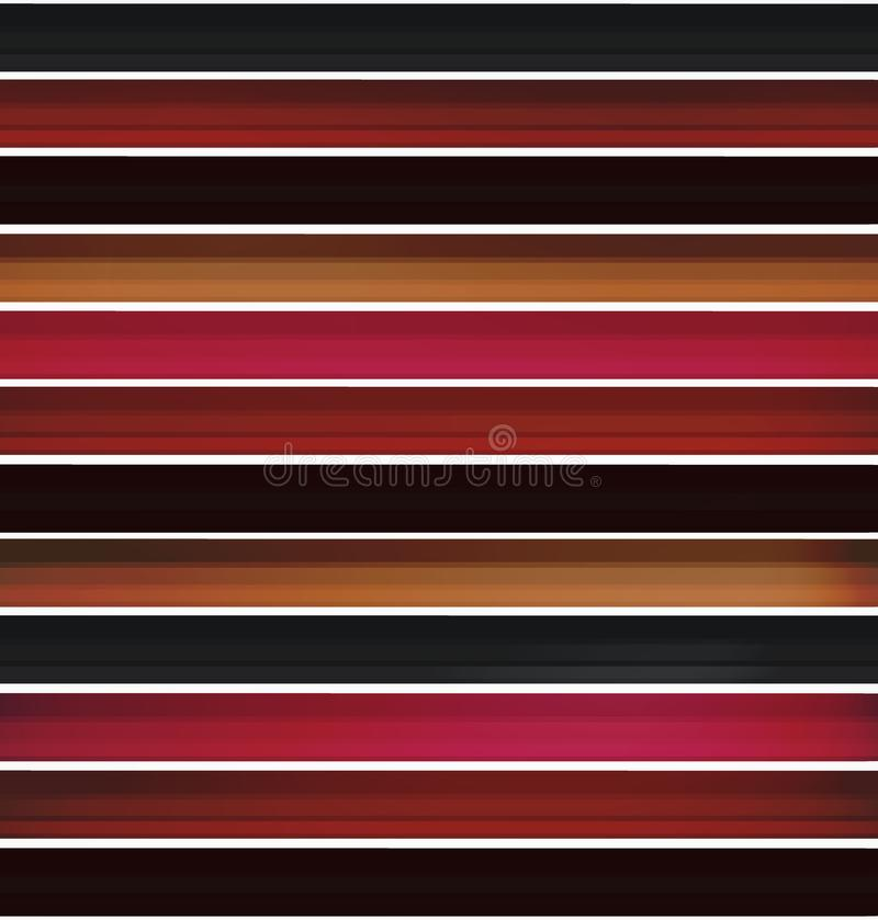 Set of colored pencils. modern background for the template in the style of realism. school subjects, elements for advertising,. Set of school colored pencils stock illustration