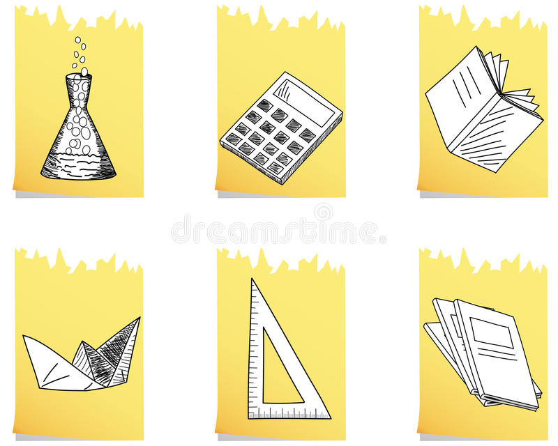 Set of school icon vector illustration