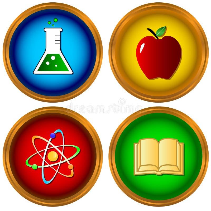 Download Set On A Scientific Subject Stock Vector - Illustration of scientific, molecule: 29828569