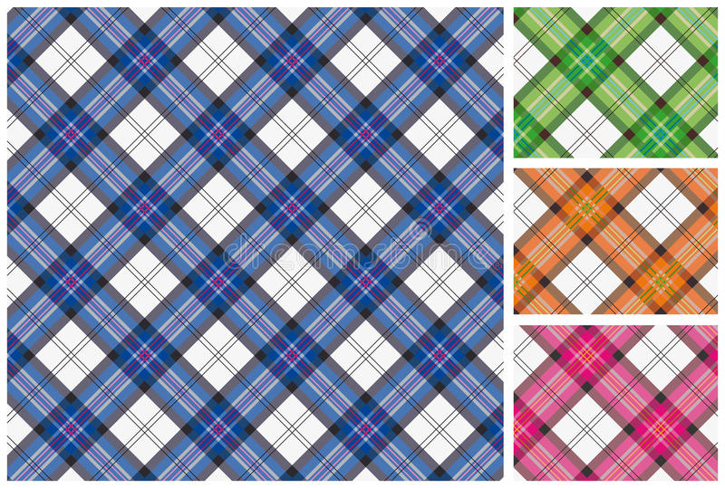 Download Set Of  Scottish Style Textile Royalty Free Stock Photos - Image: 18859468