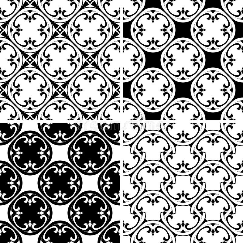 Download Set Seamless Decorative Pattern Royalty Free Stock Photo - Image: 31401165