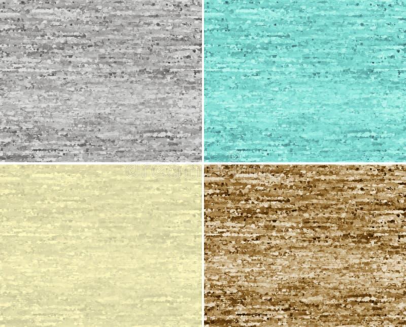 Set of seamless patterns. royalty free illustration