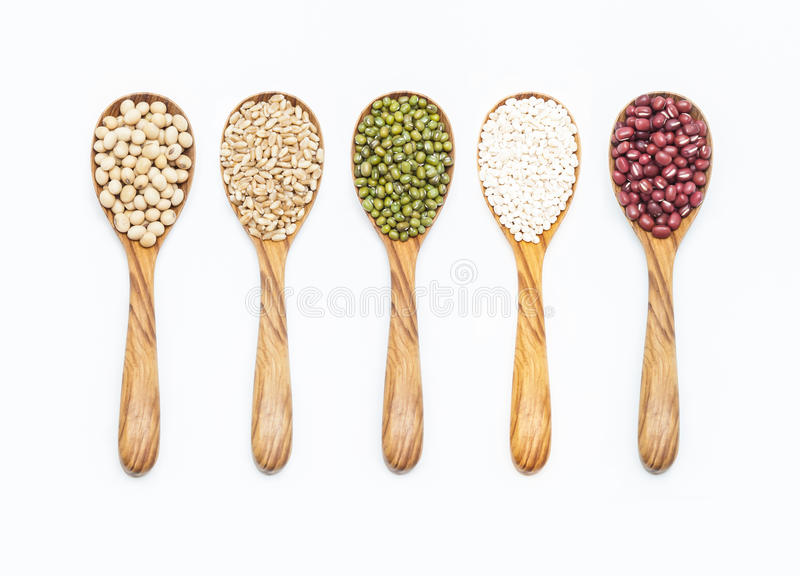 A set of seed royalty free stock image