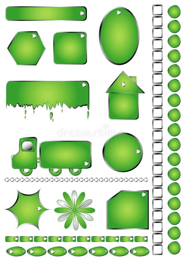 Download Set shapes stock vector. Illustration of discount, diet - 15549015