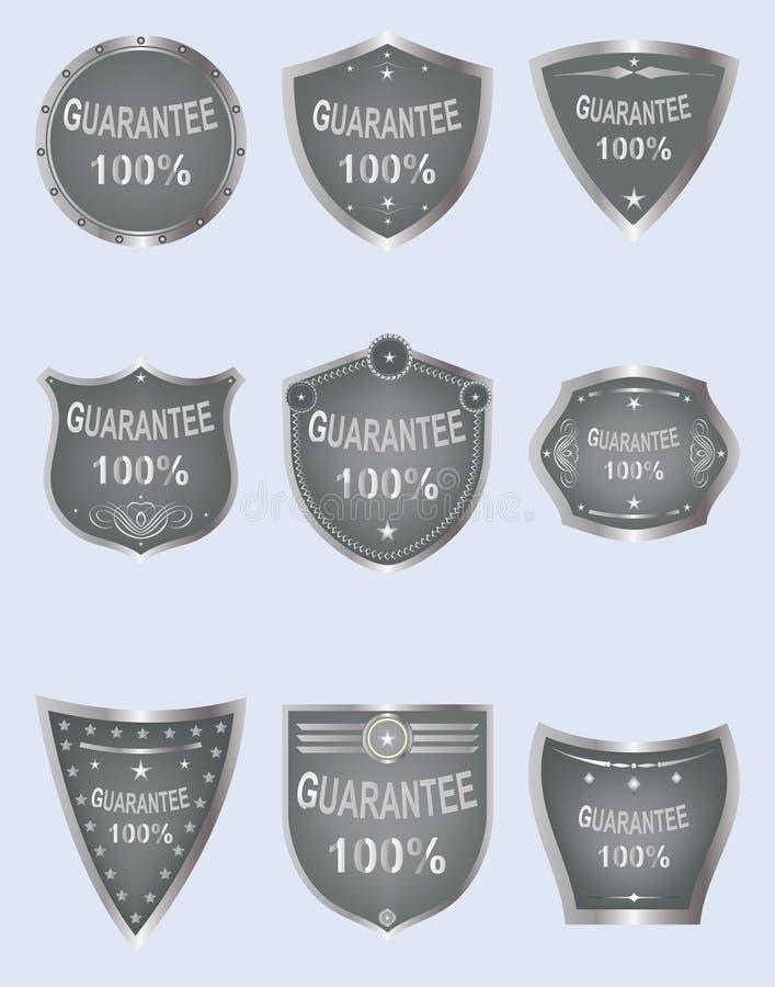 Download Set of  shield design. stock vector. Image of award, certificate - 13412703