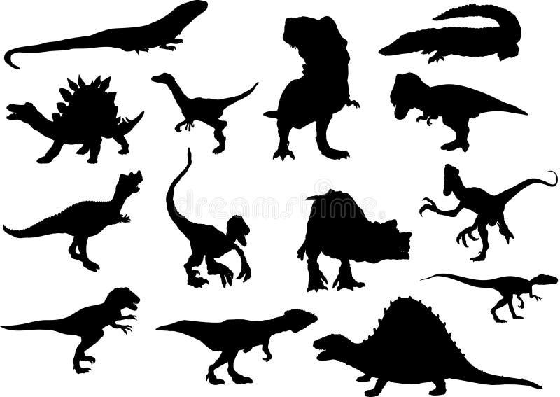Download Set siluet stock vector. Image of illustration, animal - 10907186