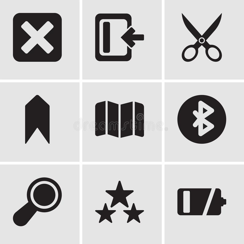 Set of 9 simple editable icons such as empty battery rate download set of 9 simple editable icons such as empty battery rate magnifying glass gumiabroncs Image collections