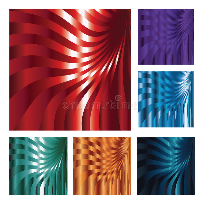 Download Set Of Six Abstract Backgrounds Stock Vector - Image: 29327497
