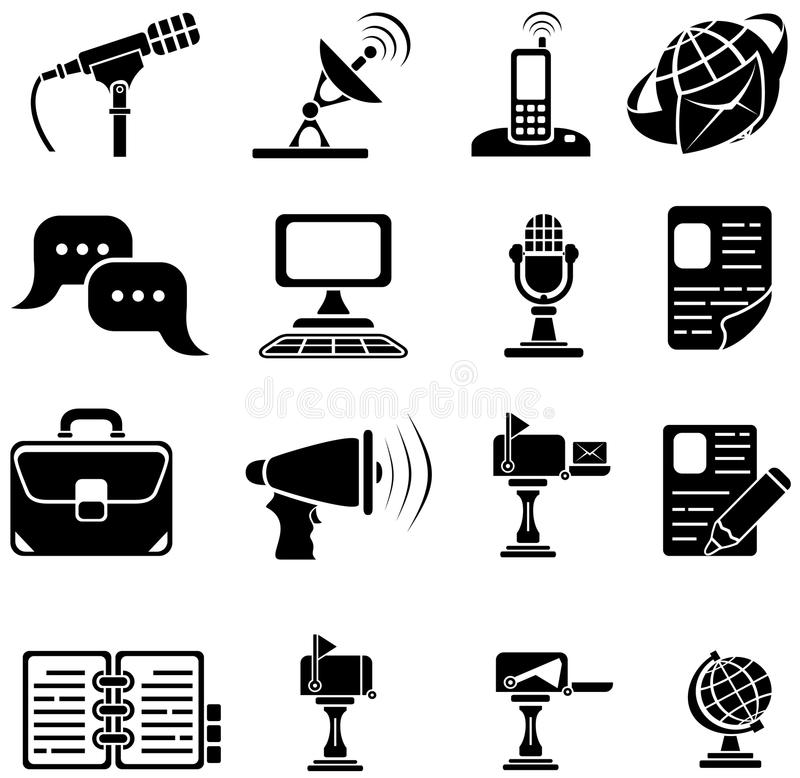 Download Set Of Sixteen Icons Stock Photos - Image: 20951263