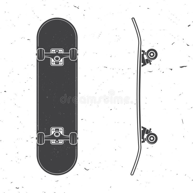 Set of skateboard icon. Vector illustration. vector illustration