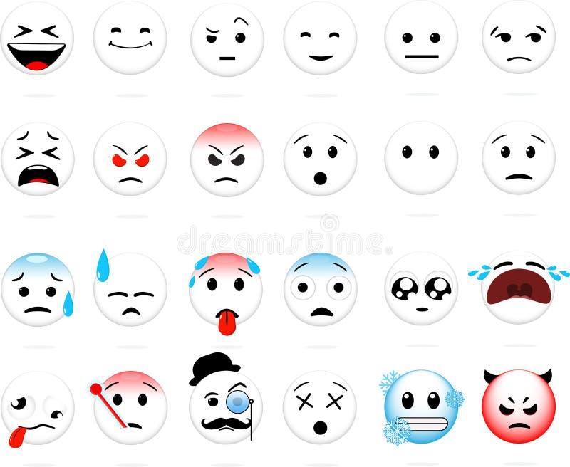 set smiles ελεύθερη απεικόνιση δικαιώματος