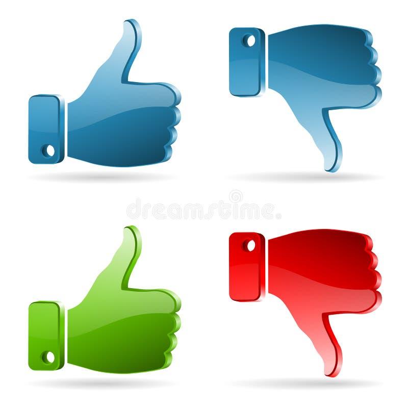 Set Social Media Sticker Editorial Photography