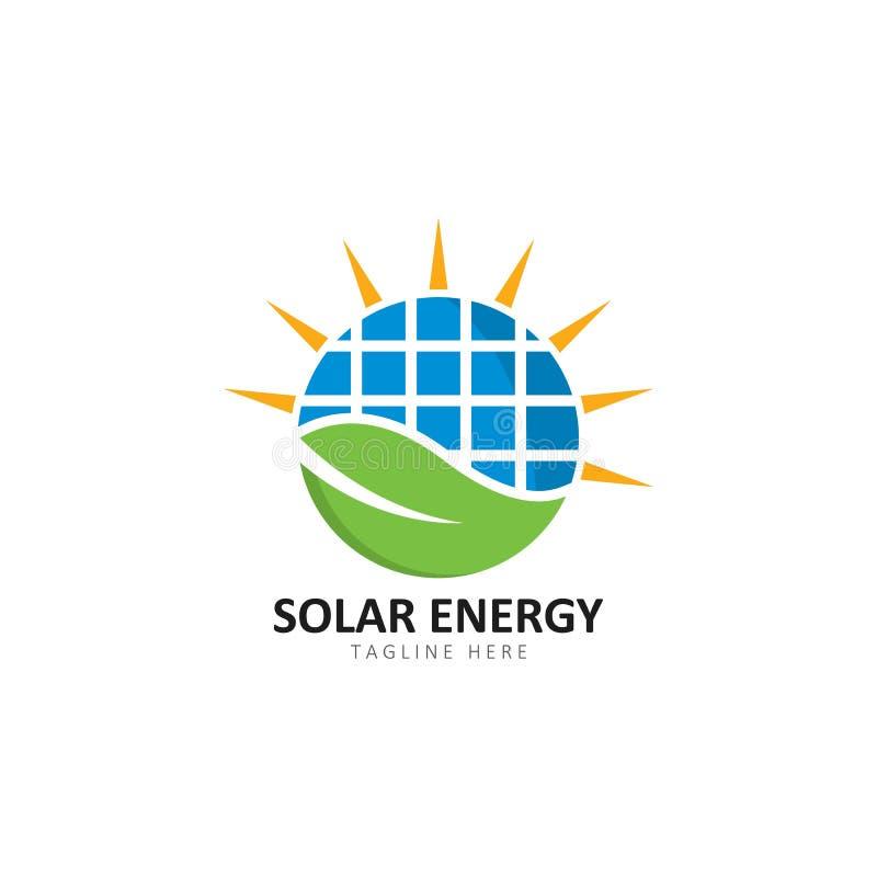 Set of solar energy logo template vector icon illustration vector illustration