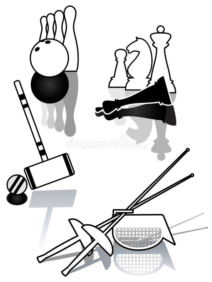 Download Set Of Sports Illustration. Stock Vector - Image: 18934754
