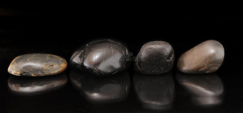 set stenar för flod arkivbild