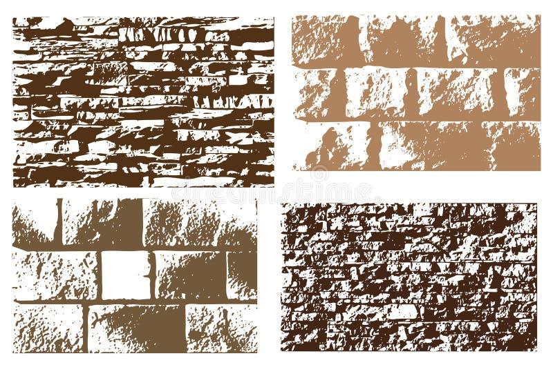 Download Set of stone texture stock illustration. Illustration of element - 7704656