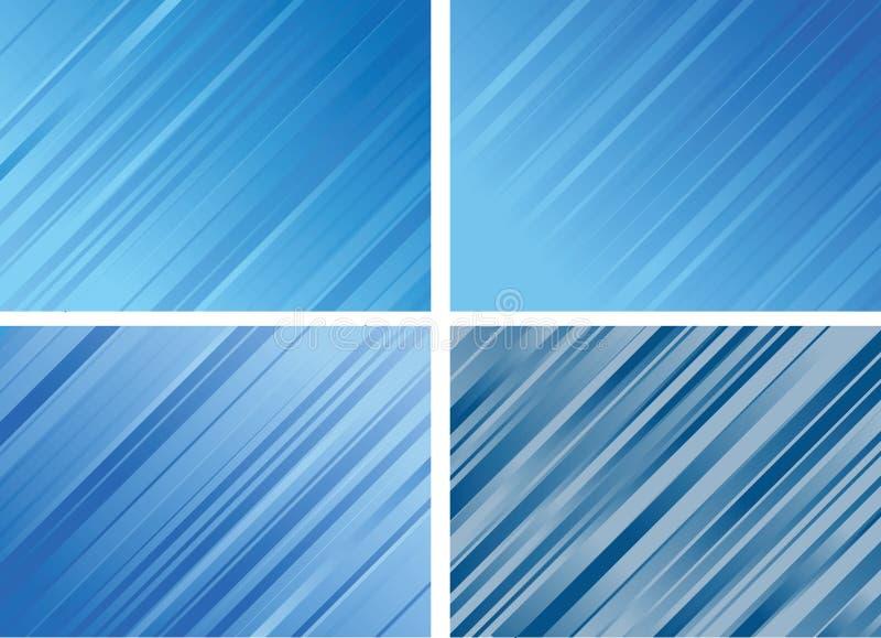 Set of Striped Backgrounds stock illustration