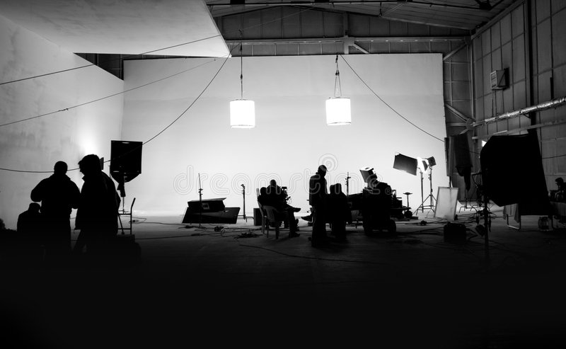 set studio στοκ φωτογραφία με δικαίωμα ελεύθερης χρήσης