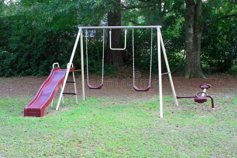 set swing royaltyfria foton