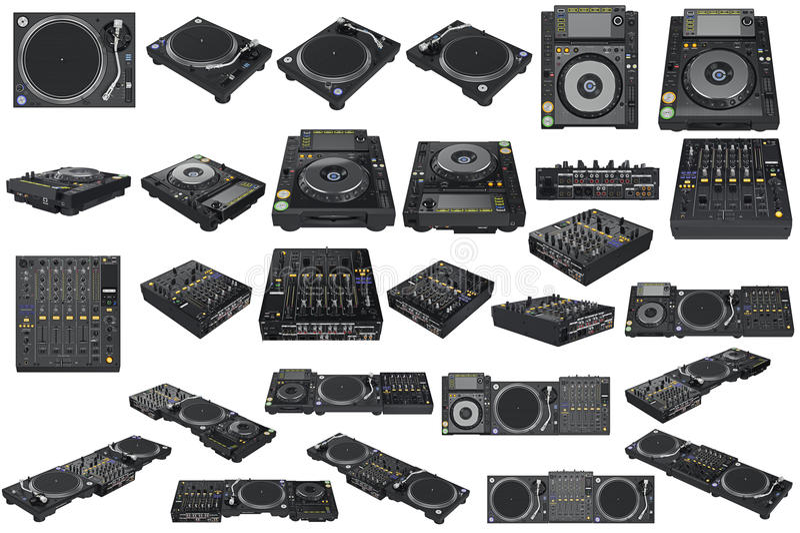 Download Set table dj equipment stock photo. Image of play graphic - 74005420 & Set table dj equipment stock photo. Image of play graphic - 74005420