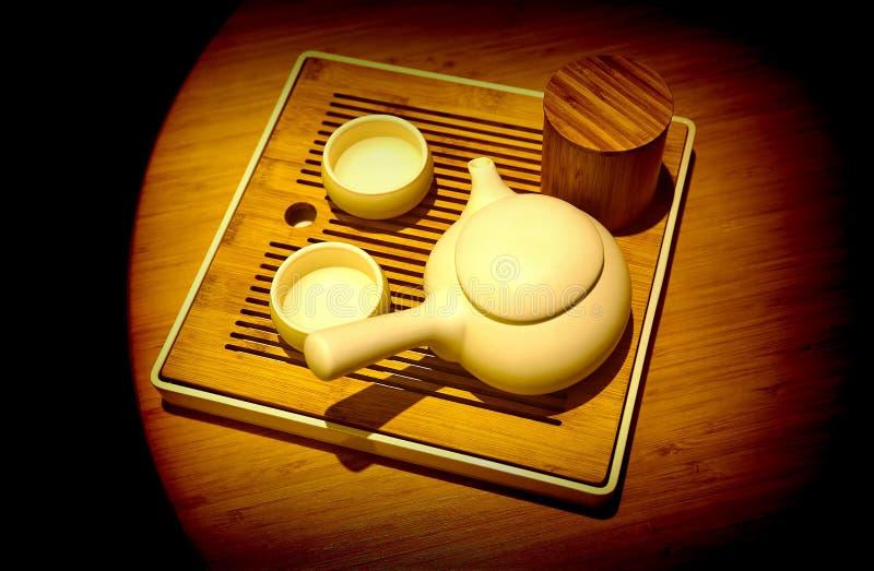 set tea för kinesisk kruka royaltyfri foto