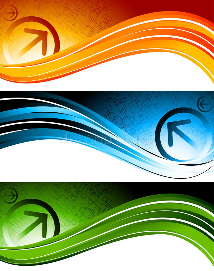 Download Set Of Tech Banners Royalty Free Stock Photos - Image: 19084898