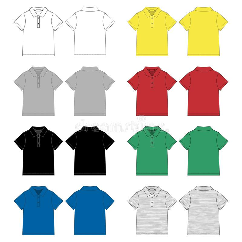 Polo Shirt Shirt Design Template Stock Illustrations 4 866