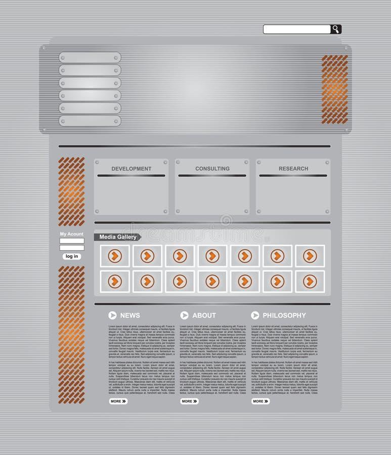 set teknisk mallrengöringsduk för sida stock illustrationer