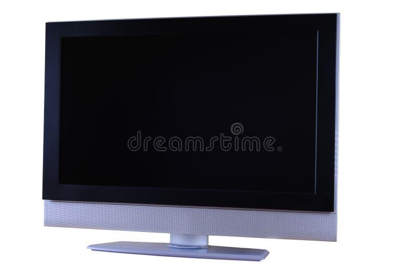 set television för lcd arkivbild