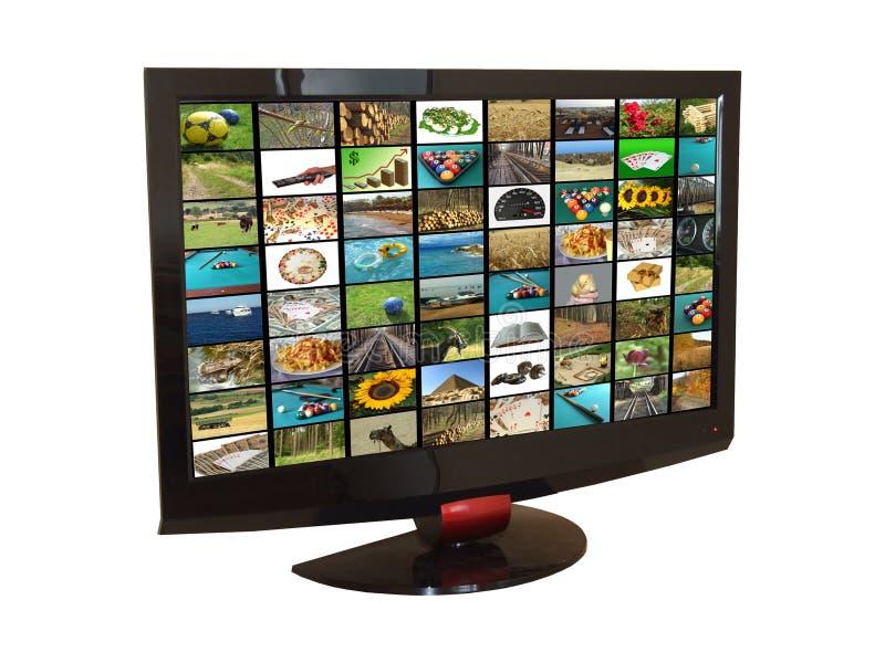 Set televisivo immagini stock libere da diritti