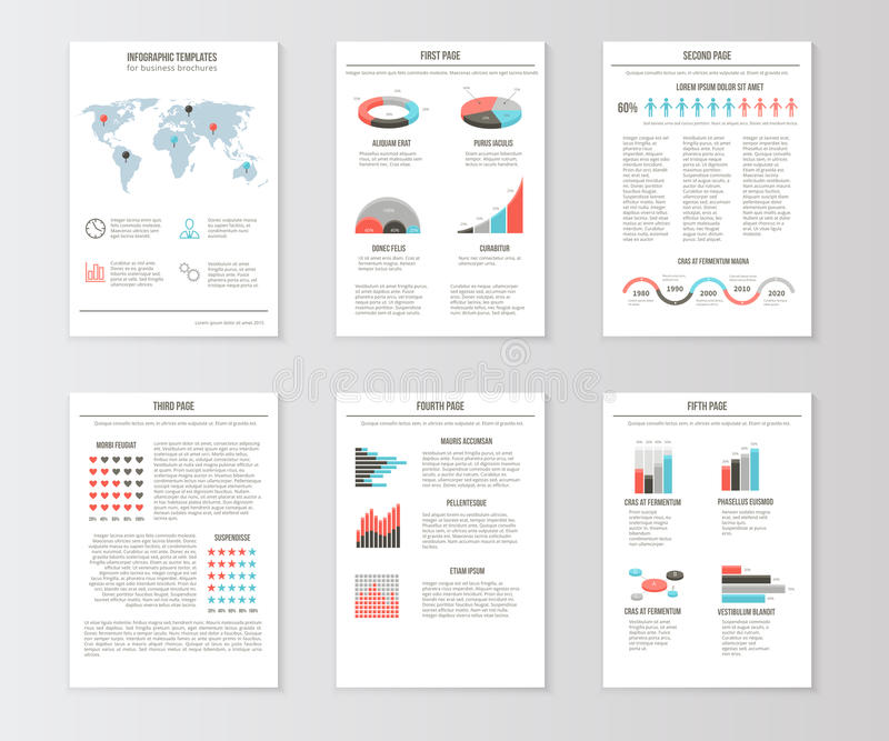Set of templates for business brochures web pages stock vector download set of templates for business brochures web pages stock vector illustration of flyers accmission Choice Image