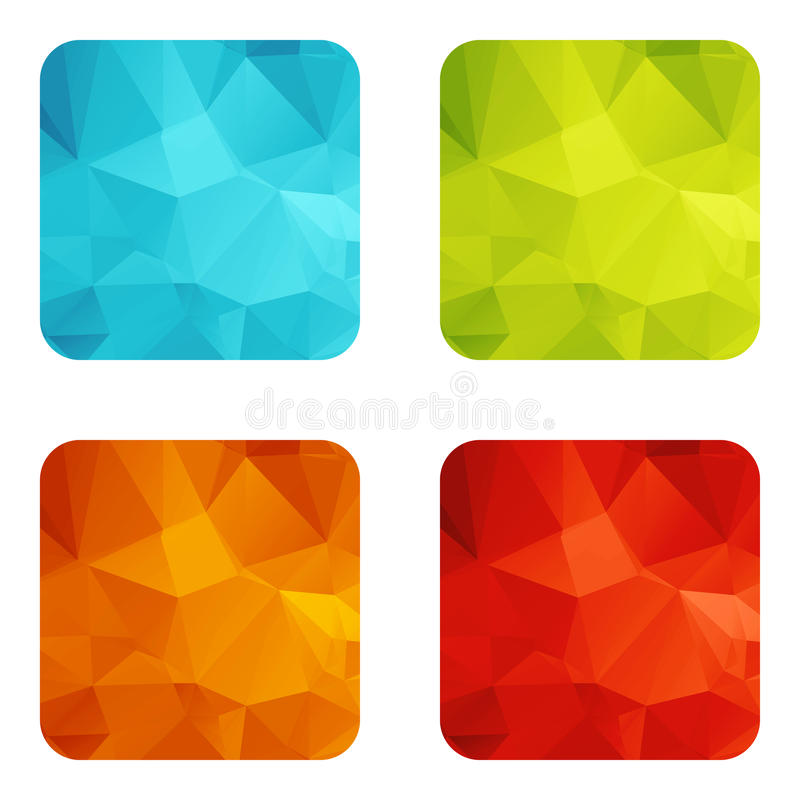 Set templates stock illustration