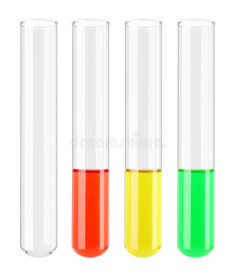 Download Set of Test tube stock image. Image of green, concentration - 30367367