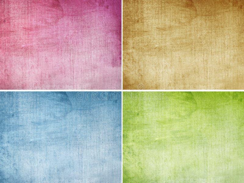 Set of texture stock photos